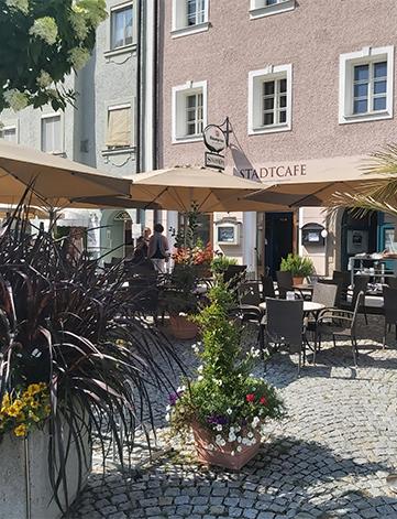 Stadtcafe Gastgarten