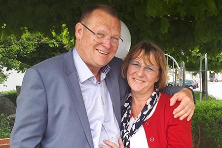 Manfred und Sonja Hubmer